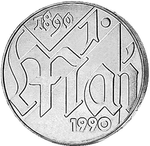 10 Mark Silber Münze Ddr 100 Jahre 1 Mai 1990 Münzen Günstigerde