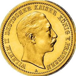 Der deutsche Kaiser Wilhelm II. (1859–1941)