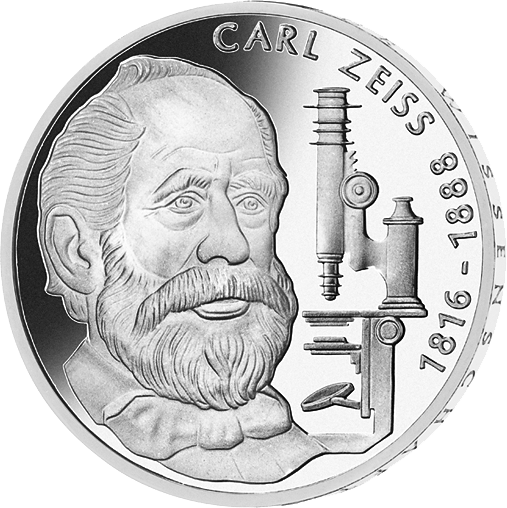 10 Dm Silber Münze Carl Zeiss 1988 10 Dm Münzen Dm Münzen