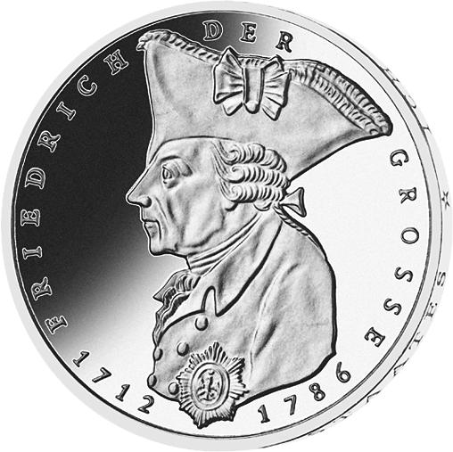 5 Dm Münze Friedrich Der Große Deutschland 1986 Münzen Günstigerde