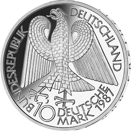 10 Dm Silber Münze 750 Jahre Berlin 1987 10 Dm Münzen Dm Münzen