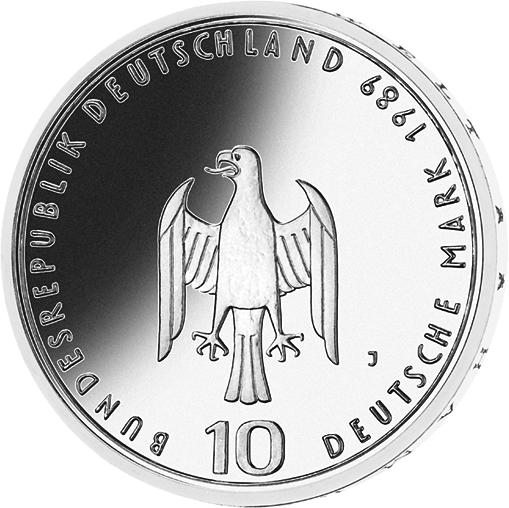 10 Dm Silber Münze Hamburger Hafen 1989 10 Dm Münzen Dm Münzen