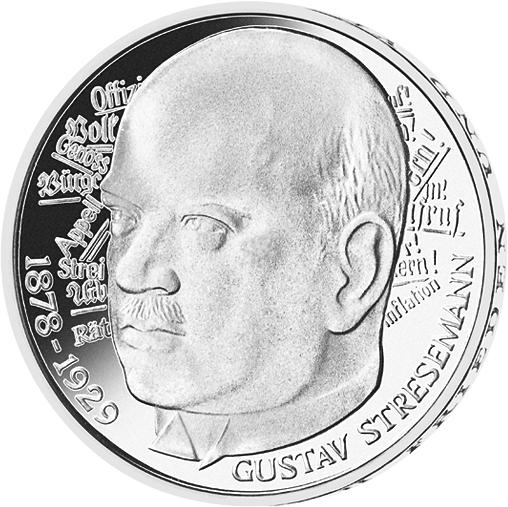 5 Dm Münze Stresemann Deutschland 1978 Münzen Günstigerde