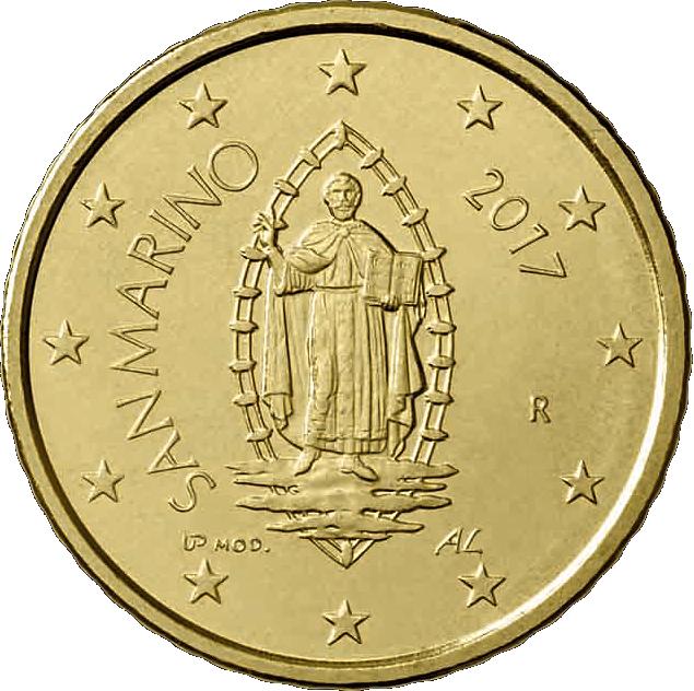 San Marino Offizieller Kursmünzensatz 2017 Münzen Günstigerde