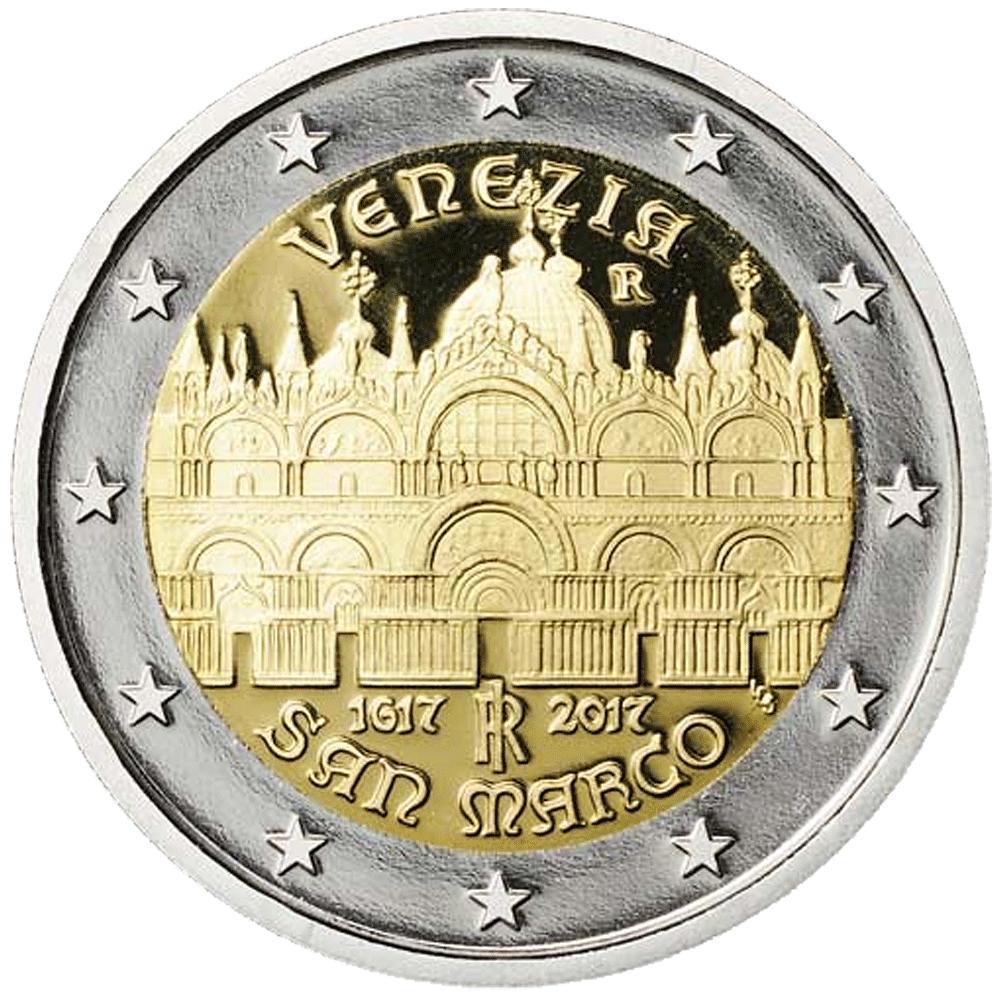 2 Euro Münze Italien 400 Jahrestag Der Fertigstellung Des Sankt