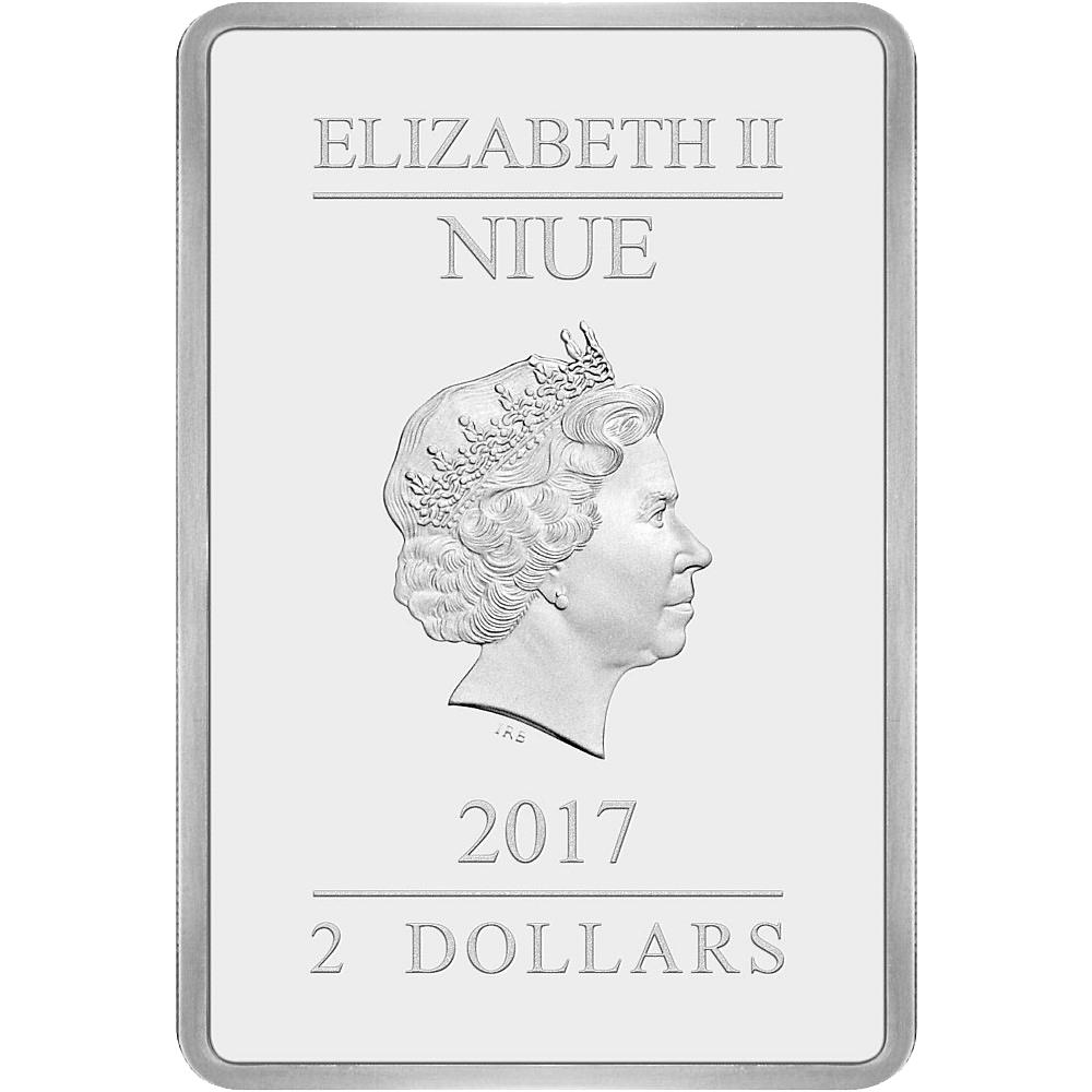 2 Nzd Silbermünze Niue Star Wars Das Imperium Schlägt Zurück 2017