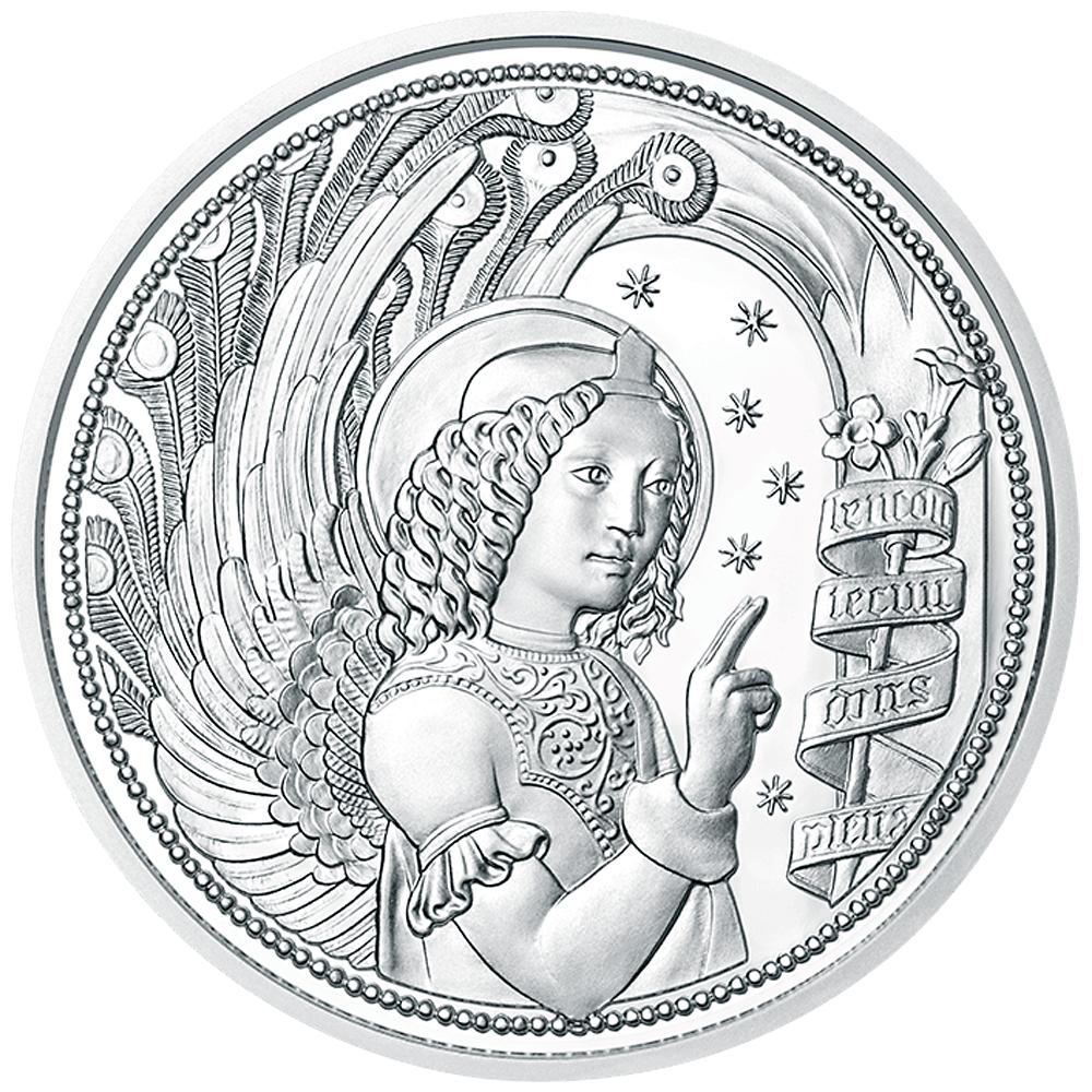 10 Euro Silbermünze österreich Himmlische Boten Gabriel Der