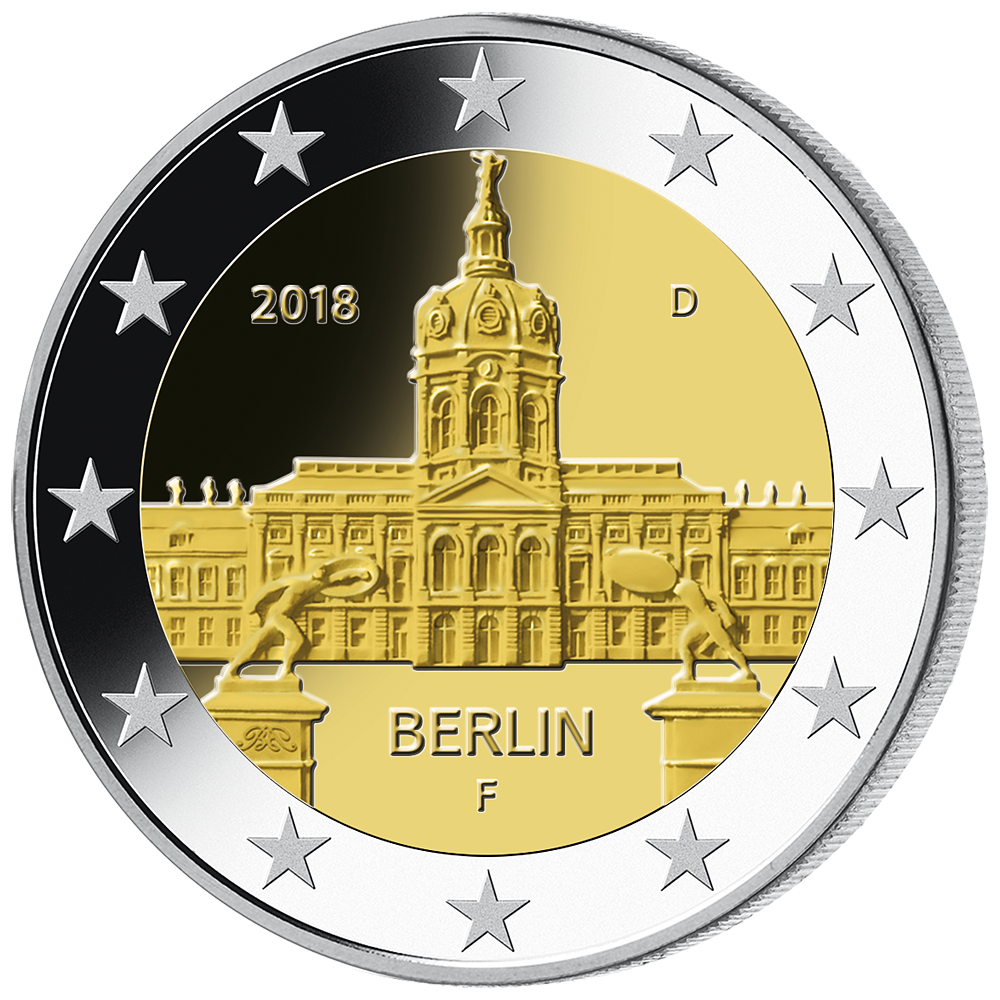 2 Euro Münze Brd Berlin Schloss Charlottenburg 2 Euro 2018 Bfr