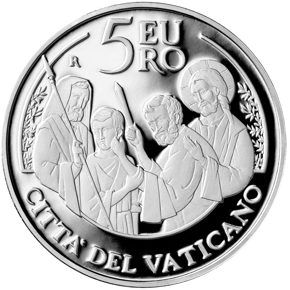 5 Euro Silbermünze Vatikan 50 Weltfriedenstag 2017 Pp Münzen