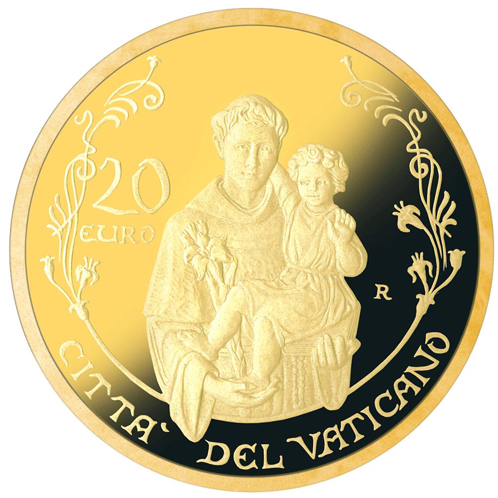20 Euro Goldmünze Vatikan Die Päpstliche Basilika Des Heiligen