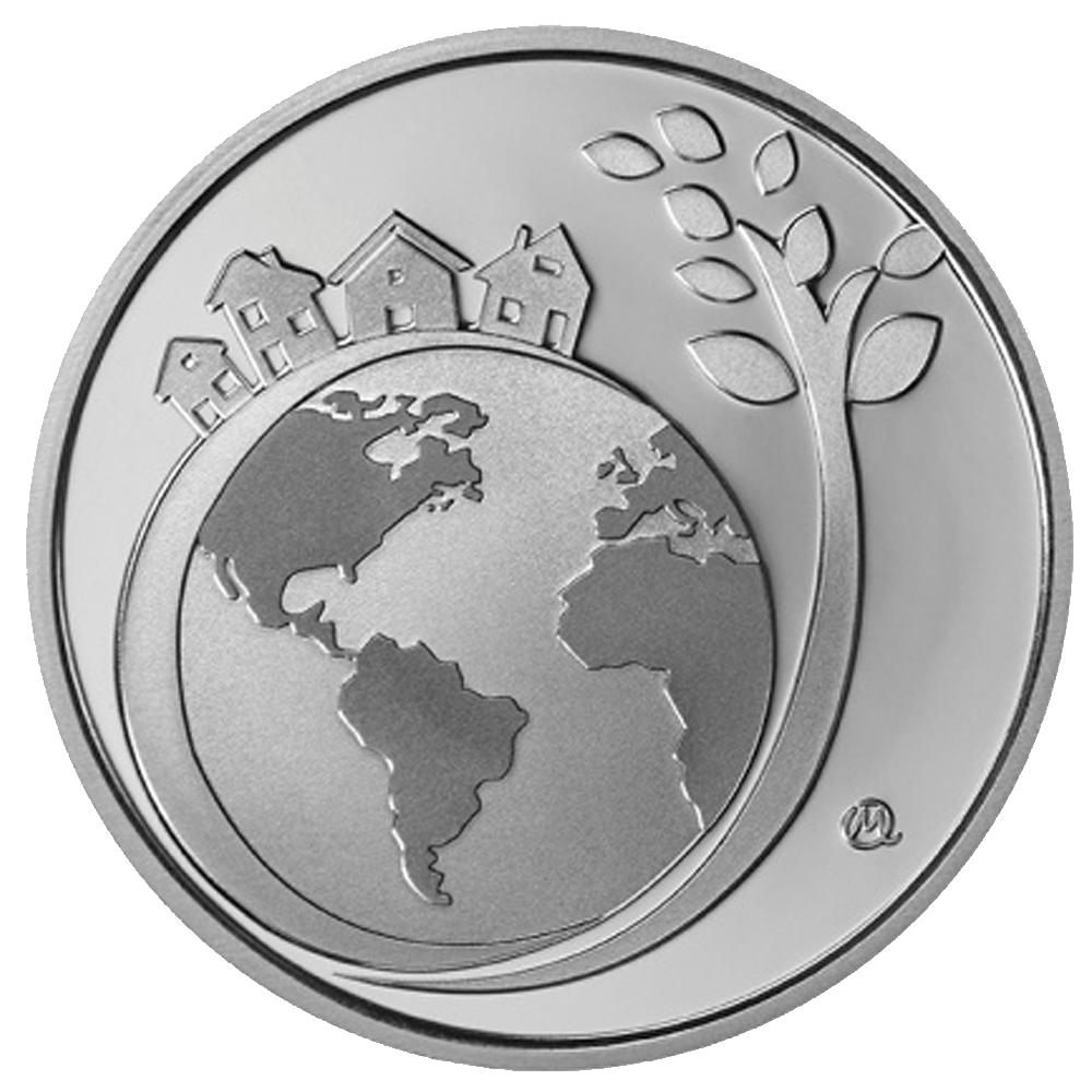 6 Euro Silbermünze Griechenland Internationales Jahr Des