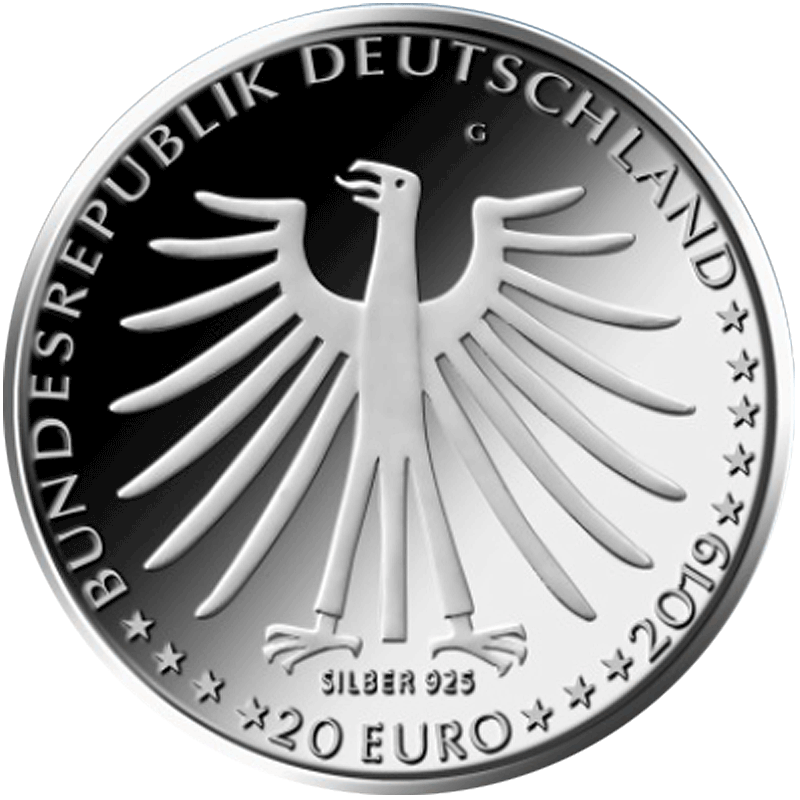 20 Euro Silber Münze Brd 2019 Tapferes Schneiderlein St Münzen