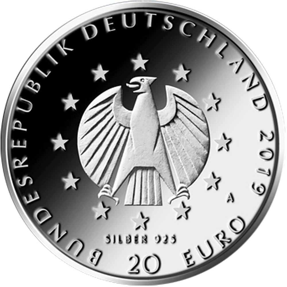20 Euro Silber Münze Brd 2019 100 Jahre Weimarer Reichsverfassung