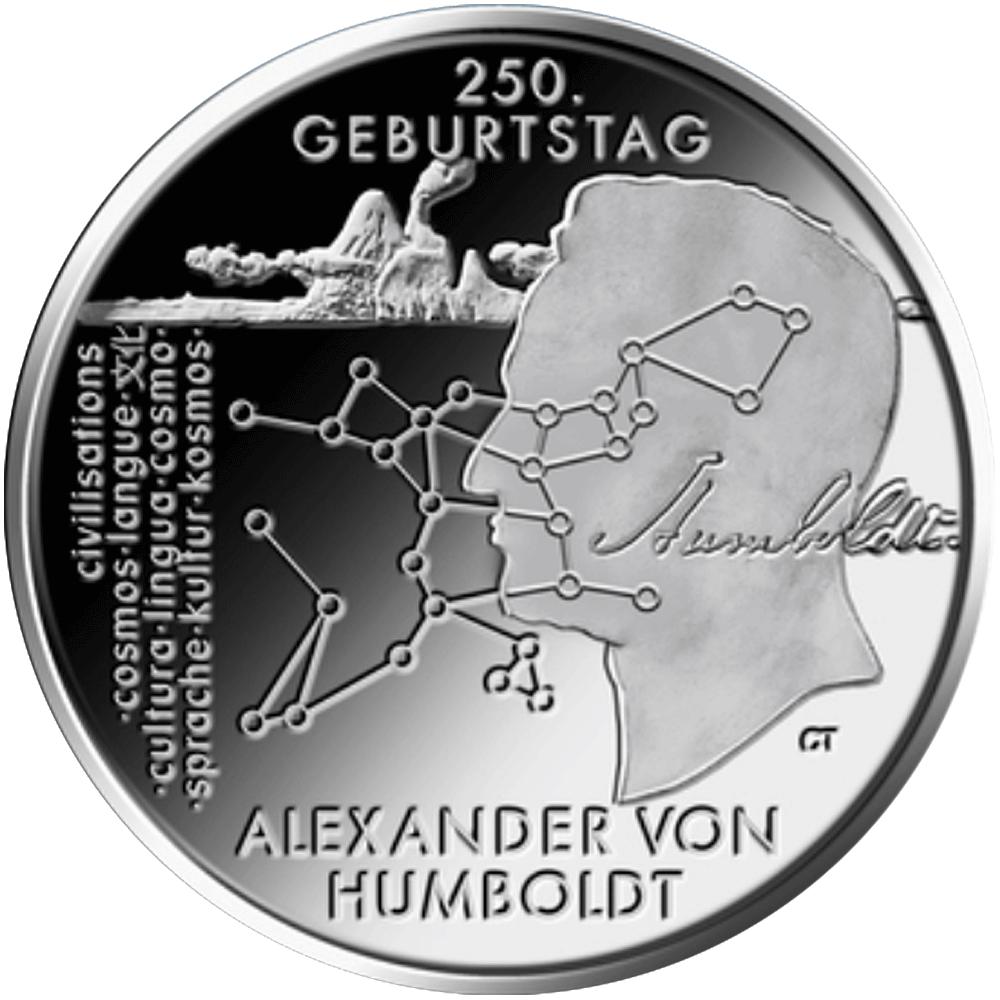 20 Euro Silber Münze Brd 2019 250 Geburtstags Von Alexander Von