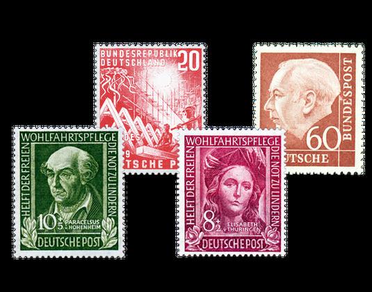Deutsche Briefmarken Jahrgangssätze Postfrisch Borekde