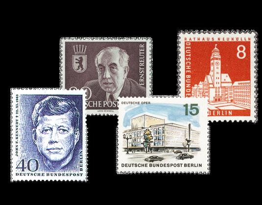 Briefmarken Berlin Mehr Als Eine Stadt Borekde