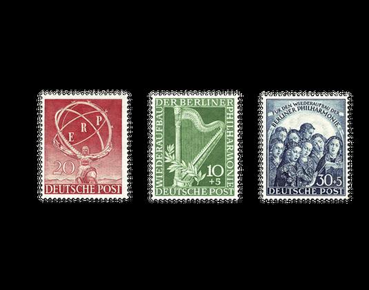 Briefmarken Jahrgangssatz Berlin 1950 In Postfrischer Erhaltung