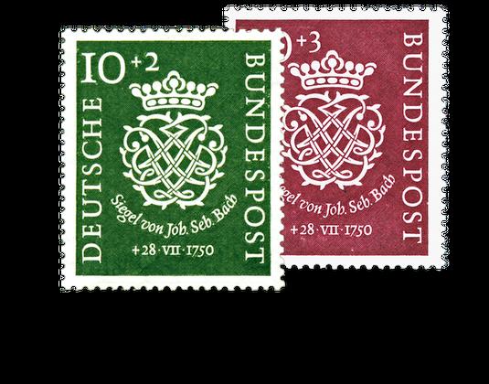 Briefmarken Jahrgang Deutschland 1950 Postfrisch Oder Gestempelt