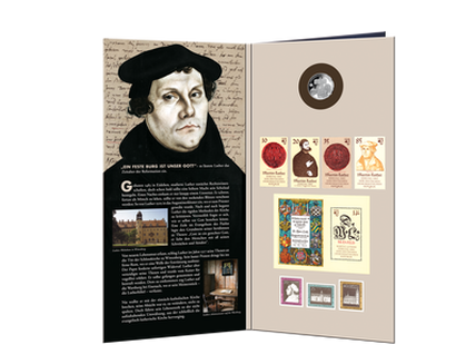 "DDR Edition / Gedenkmappe ""Martin Luther"""