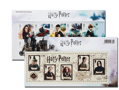 "Briefmarken ""Harry Potter Presentation Pack"""