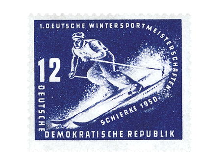 Briefmarkensatz Wintersportmeisterschaft