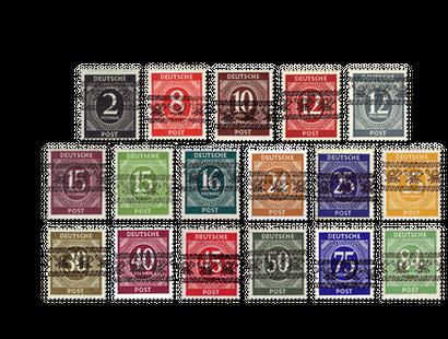 Briefmarken Der Alliierten Besetzung Borekde