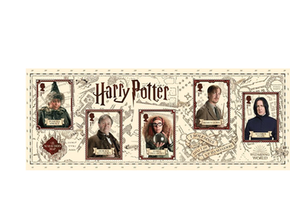 "Briefmarken ""Harry Potter - Miniaturbogen"""