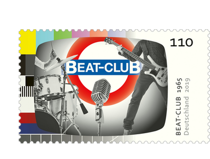 "Briefmarke ""Beat-Club"" - Neuheit 2019"