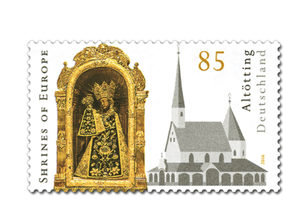 "Briefmarke ""20 Jahre Shrines of Europe - Altötting"""
