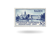 Briefmarke Baden - Internationaler Ingenieur-Kongress Konstanz, Michel-Nr.: 46 II, postfrisch