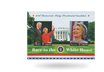 2er-Briefmarkenblock Hillary und Bill Clinton