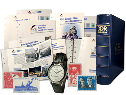 Die Briefmarken der DDR - Komplettedition