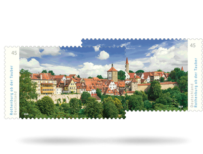 "Briefmarke ""Rothenburg ob der Tauber"" - Neuheit 2019"