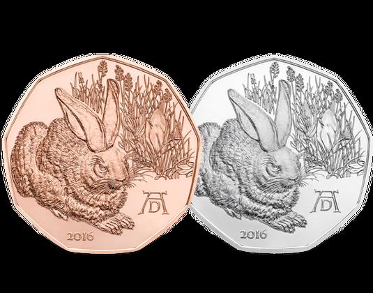 5 Euro Gedenkmünze Feldhase Mdm Deutsche Münze