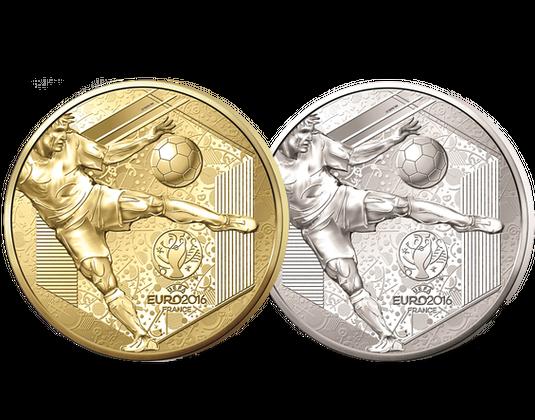 Gedenkmünzen Frankreich 2016 Uefa Euro 2016 Mdm Deutsche Münze