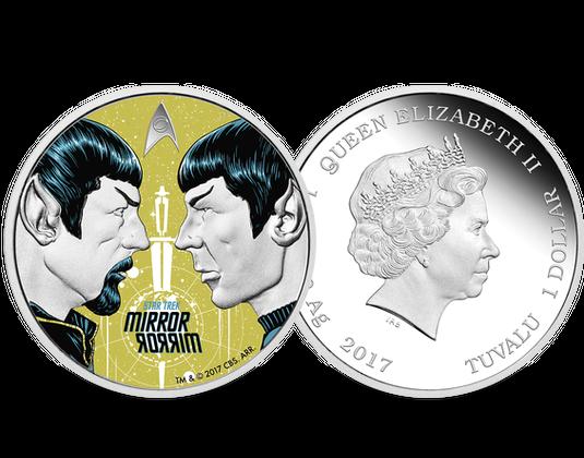 Silbermünze Tuvalu 2017 Star Trek Mdm Deutsche Münze