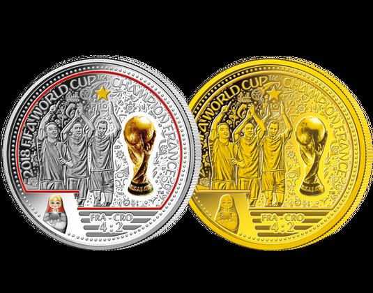Jetzt Vorbestellen Einzige Offizielle Silbermünze Fußball