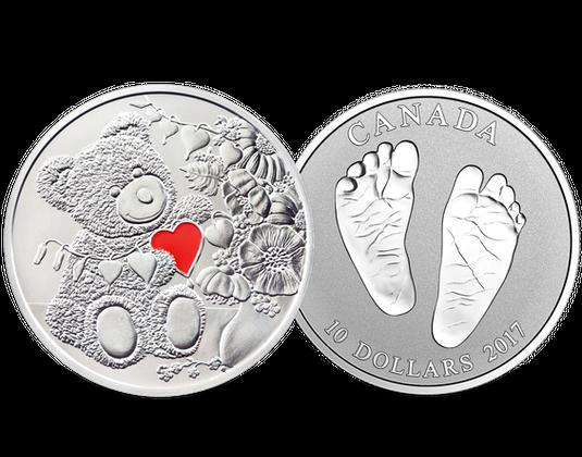 Münzen 2017 Geschenk Zur Taufe Mdm Deutsche Münze