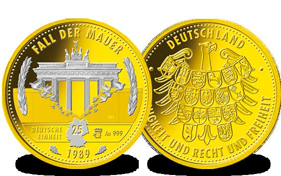 Samoa Gedenkmünzen 25 Jahre Mauerfall Mdm Deutsche Münze