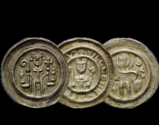 3er Set Magdeburg Brakteaten 13 Jahrhundert Mdm Deutsche Münze