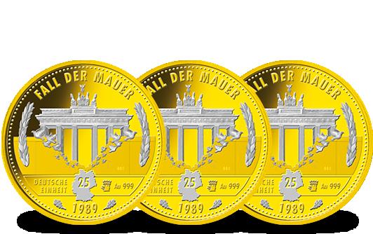 König Kaiser Und Zar Auf Drei Kostbaren Goldmünzen Mdm Deutsche