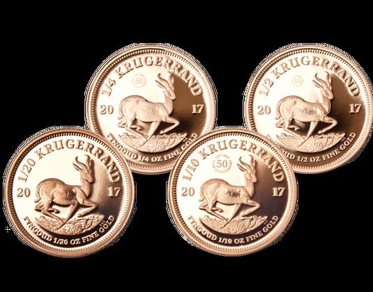 Gold Gedenkmünzen Südafrika 2017 Krügerrand Mdm Deutsche Münze