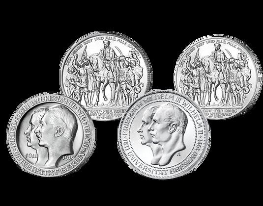 Gedenkmünzen Zu Ehren Friedrich Wilhelms Iii Mdm Deutsche Münze