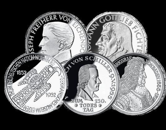 Deutschland Erste Fünf Mdm Deutsche Münze
