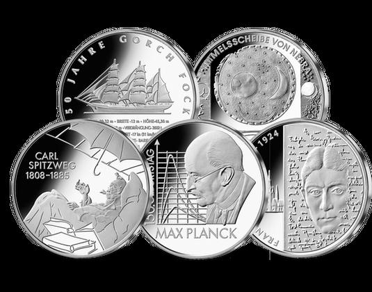 10 Euro Münzen Jahressatz 2008 Mdm Deutsche Münze