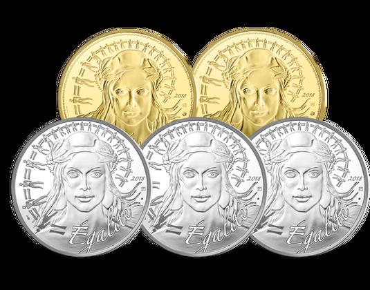 Frankreich 2018 20 Euro Silber Gedenkmünze Marianne Mdm Deutsche