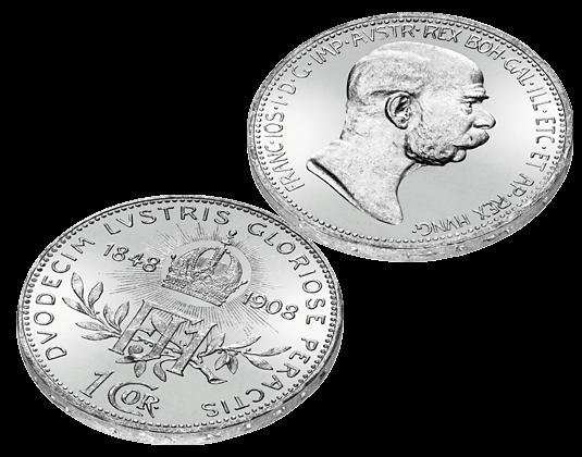 Die Berühmtesten Silbermünzen Von Kaiser Franz Joseph Imm Münz