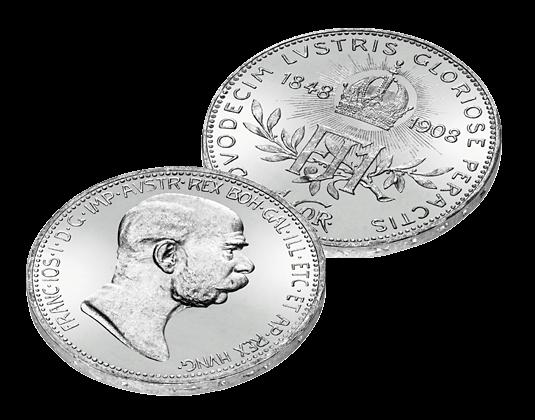 Silberkrone Von 1908 Zum 60 Jährigen Thronjubiläum Von Franz Joseph
