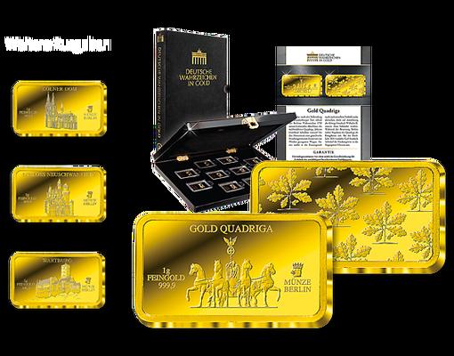 Goldbarren Edition Der Münze Berlin Mdm Deutsche Münze