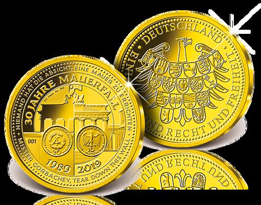 Münzen 30 jahre mauerfall